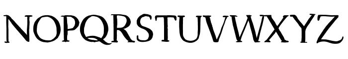 Dragonfly Regular Font UPPERCASE