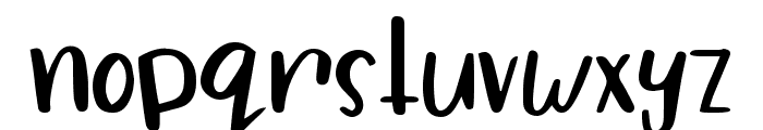 Dragonfly Soup Font LOWERCASE