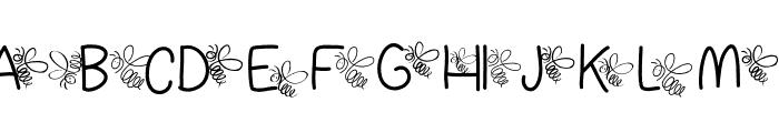 Dragonflykid Font UPPERCASE