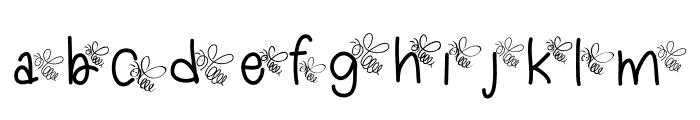 Dragonflykid Font LOWERCASE