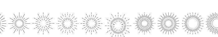 DreamCatchersExtras Font OTHER CHARS