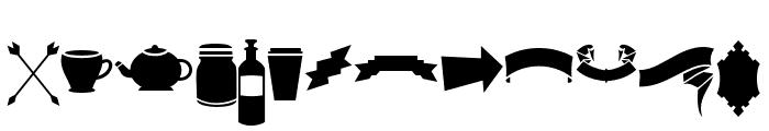DreamCatchersExtras Font UPPERCASE