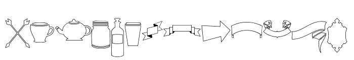 DreamCatchersExtras Font LOWERCASE