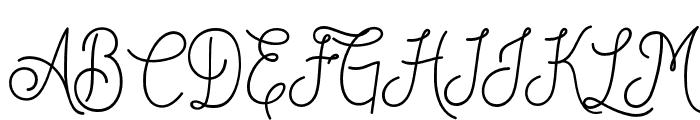 DreamCatchersSan Font UPPERCASE