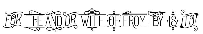 DreamCatchersSwash Font OTHER CHARS