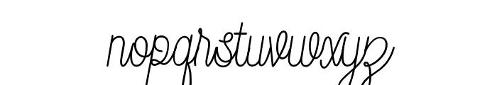 DreamCatchers Font LOWERCASE