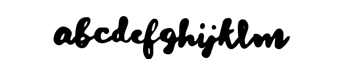 Dreaming Time Font LOWERCASE