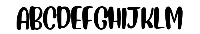 Drenched Roses Regular Font UPPERCASE