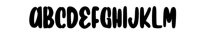 Ducky Font UPPERCASE