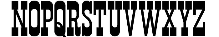Durango Western Font UPPERCASE