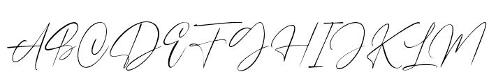 Dutchly Font UPPERCASE
