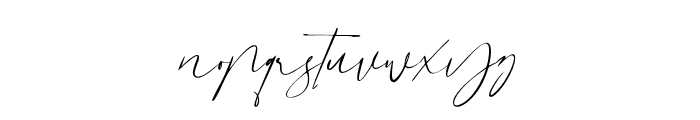 Dutchly Font LOWERCASE