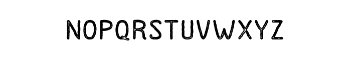 Dutchy-Stamp Font LOWERCASE
