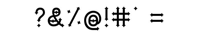 DymondSpeers Font OTHER CHARS