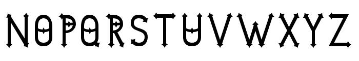 DymondSpeers Font UPPERCASE