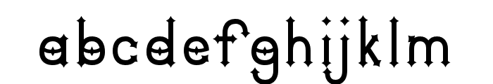 DymondSpeers Font LOWERCASE