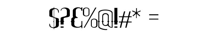 ELPIDALEAN Font OTHER CHARS