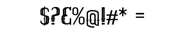 ELPIDALIGHT Font OTHER CHARS