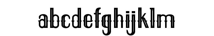 ELPIDALIGHT Font LOWERCASE