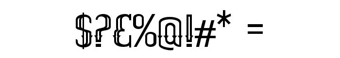 ELPIDAOUTLINE Font OTHER CHARS
