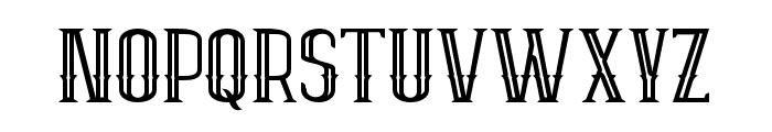 ELPIDAOUTLINE Font UPPERCASE