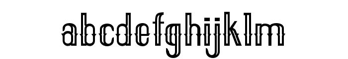 ELPIDAOUTLINE Font LOWERCASE