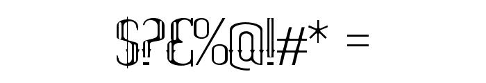 ELPIDATHIN Font OTHER CHARS