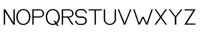 EQUILIBRIUM Regular Font UPPERCASE