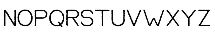 EQUILIBRIUM2 Regular Font UPPERCASE