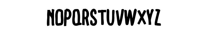 ERICA Font LOWERCASE