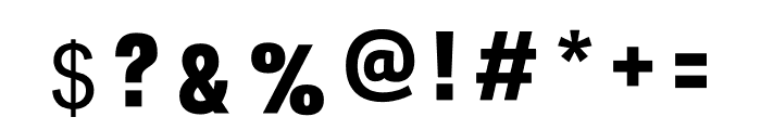 EVA  ADAM Font OTHER CHARS