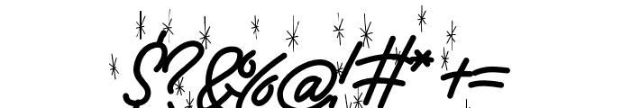 EXmasPandoro-WinterHolydays Font OTHER CHARS
