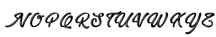 EastOctopus Font UPPERCASE