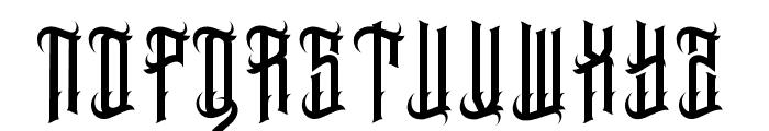 EasternBeastbase Font UPPERCASE
