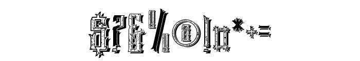 EasternBeastmix Font OTHER CHARS