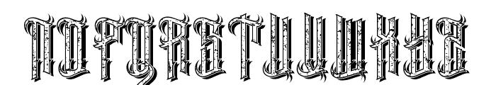 EasternBeastmix Font UPPERCASE