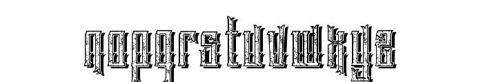 EasternBeastmix Font LOWERCASE