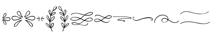 Easy Breezy Symbols Font UPPERCASE