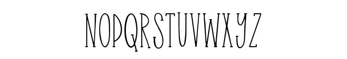 Easy Breezy2 Serif Font UPPERCASE