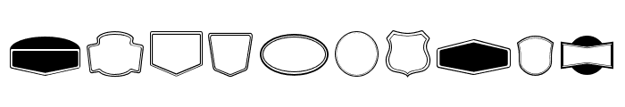 EchomotorsDingbat Font OTHER CHARS