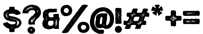 EchomotorsStamp Font OTHER CHARS