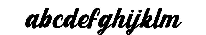 Eclare Regular Font LOWERCASE