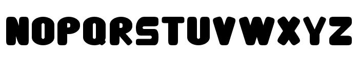 Eco power 1 Regular Font UPPERCASE