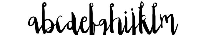 Edeline Font LOWERCASE