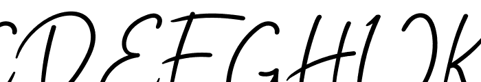 Edelweiss Flower Font UPPERCASE
