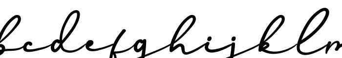 Edelweiss Flower Font LOWERCASE