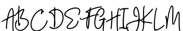Eden Hazard Font UPPERCASE