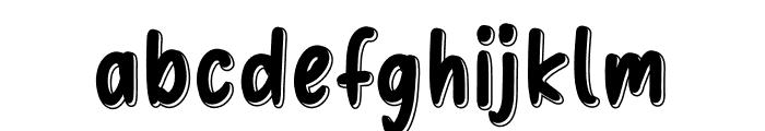 Education Font LOWERCASE