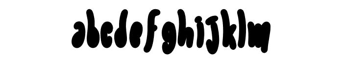 Elanora Outline 1 Font LOWERCASE