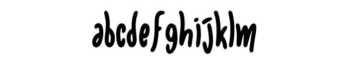 Elanora Font LOWERCASE